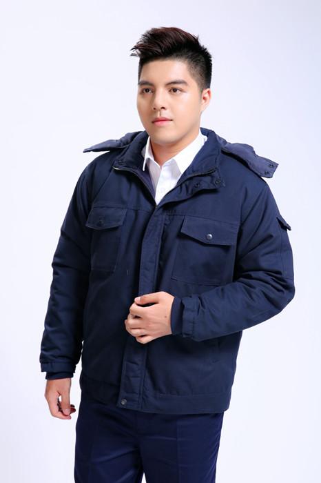 铁路工人颜色户外短款棉袄季节工品牌作服