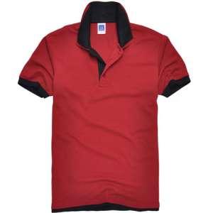 短袖T恤韩龙泉市别克版厚款双领短袖湖南T恤W544