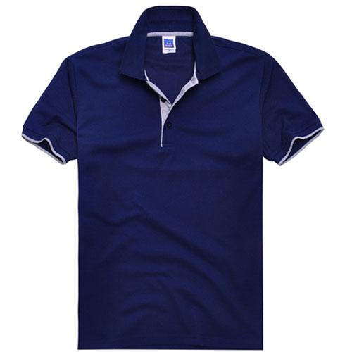 厚款式珠翻领T恤 W材颜色料545