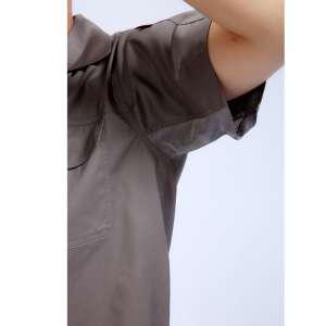 绒布带高平液网透气五金金龙厂工作服