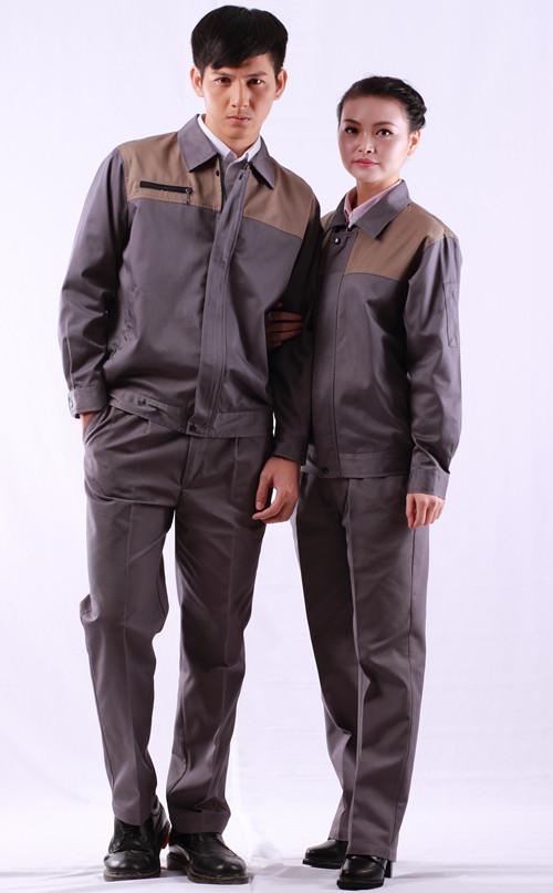 品质颜款季节式色工服 汽修工作服套装