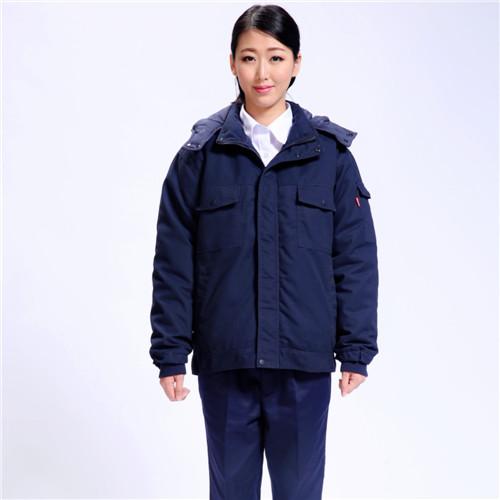 铁路工人户外短款棉袄工季款颜色式节作服
