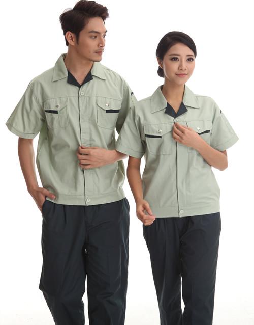 撞颜色品牌色夏款式季短袖工服
