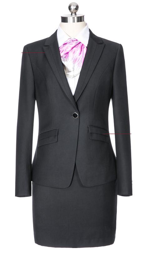 叠层斜口袋女季节款式士颜色西服