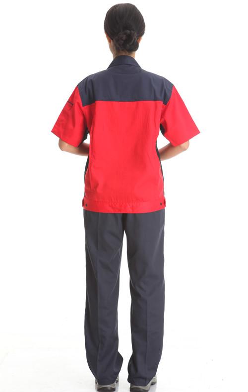 短袖颜色汽修品牌工作款式服