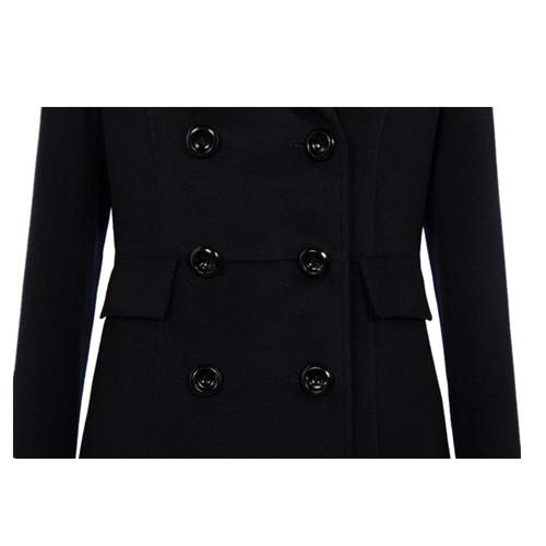 女士双排扣呢款式颜色品牌子外套