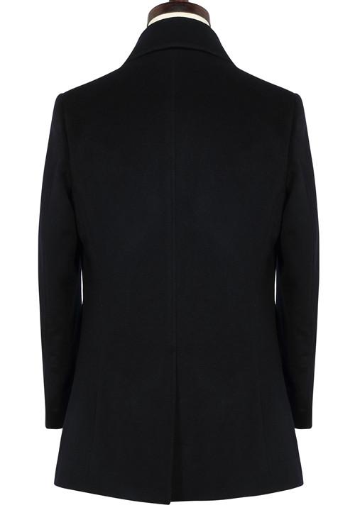 男士翻领款式羊毛季节品牌呢子大衣