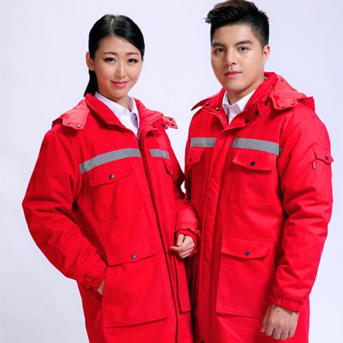 加油站防静电防水长棉衣颜色工品牌季节作服