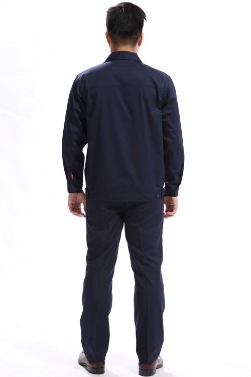 广州中铁工人工作服纯棉夏颜色季品牌长袖工作季节服