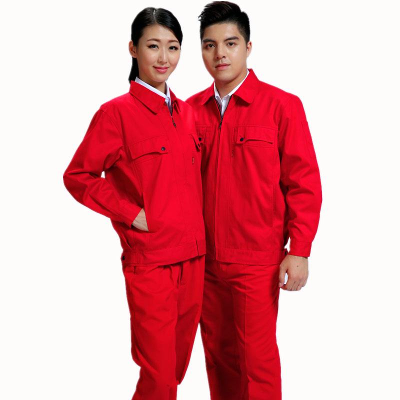 全季节棉春秋长袖加款式油站工作品牌服
