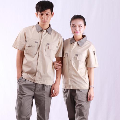 短袖工作服设计要点,短袖工作服设计效果图